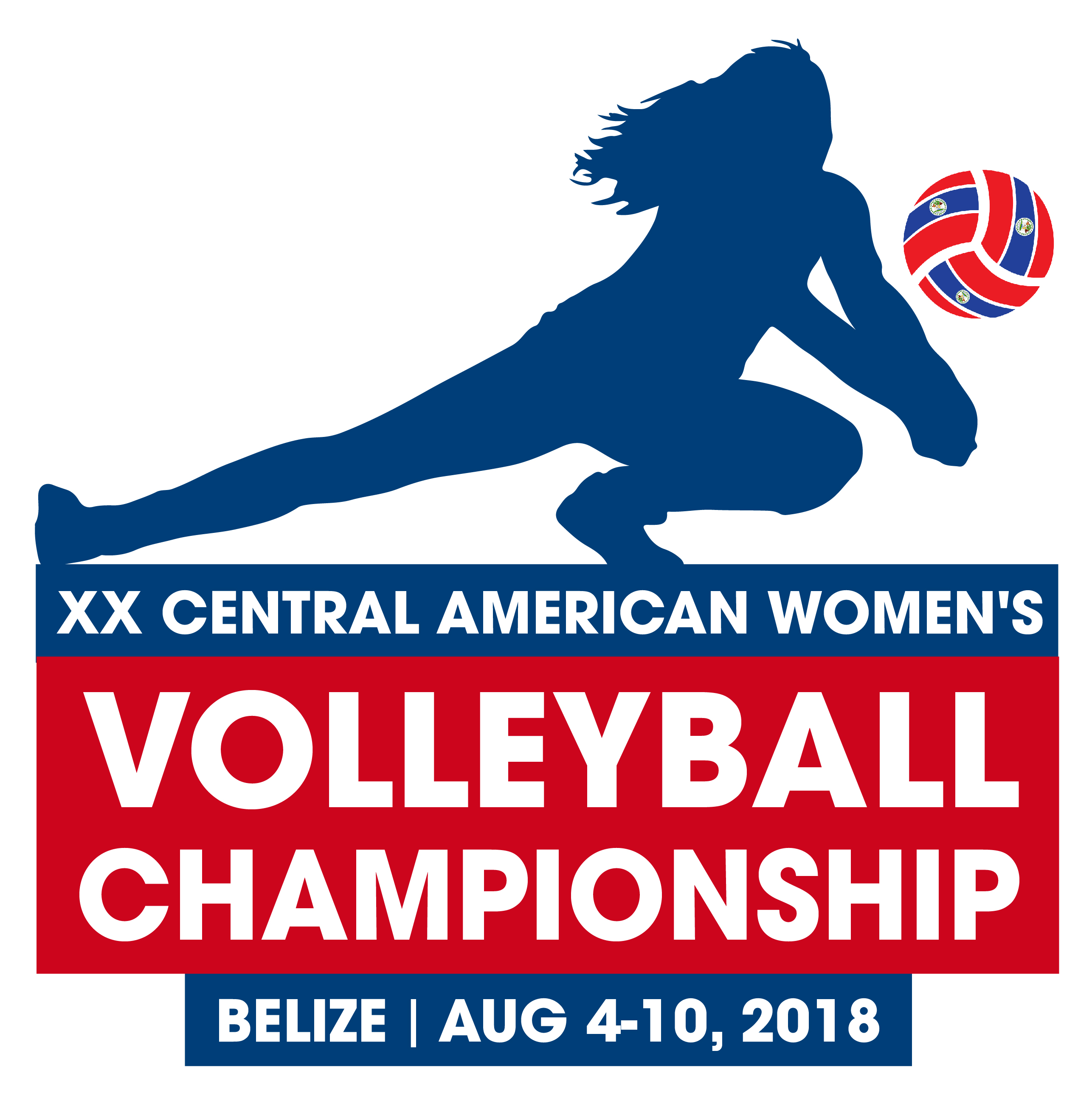 XX Copa Centroamericana Mayor Femenina, Belize 2018